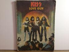 Kiss - LOVE GUN - Song Book - Rock Steady / Aucoin 1977  RARE