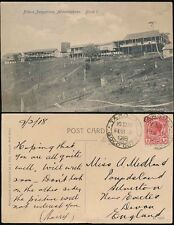 GOLD COAST TARQUAH 1918 to DEVON GB...ABBONTIAKOON FITTERS BUNGALOWS PPC