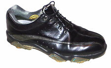FOOTJOY MENS SYNR-G LEATHER MEMORY FOAM GOLF SHOES SIZE-9.5 WIDE