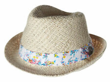 Straw Fedora/Trilby Hats for Women
