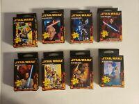 Star wars Mini Puzzle Lot of eight c3po r2d2 padma anekin Skywalker yoda Vader