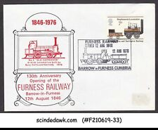 Great Britain - 1976 130th Anni, Of Furnsess Railway Cover With Sp. Cancl.