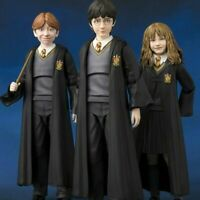 "S.H. Figuarts  6"" Harry Potter/Ron Weasley /Hermione Granger Action Figure Model"