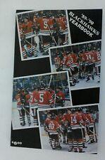Vintage NHL 1989-90 CHICAGO BLACKHAWKS Media Guide RARE Hockey