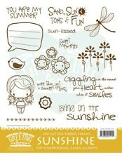 Sunshine Kit-The Greeting Farm Rubber Stamp-Stamping Craft-Anya-Scrapbooking