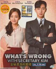 DVD Korean Drama What's Wrong With Secretary Kim English Sub All Region FREESHIP