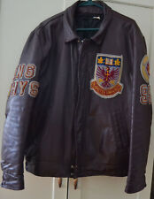 Men's McMaster University Engineering 95 Leather Jacket Hamilton Canada Used