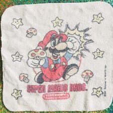 RARE Vintage 1989 Cecil Saydah Nintendo Super Mario Bros. Washcloth Only NES VTG