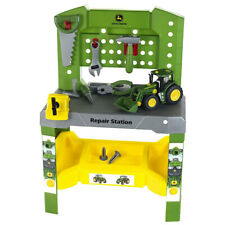John Deere Repair Station With Tools and Tractor Included Ages 3 Lp66712