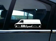 G30 Squad sticker -for Chevrolet Chevy van | g30 classic