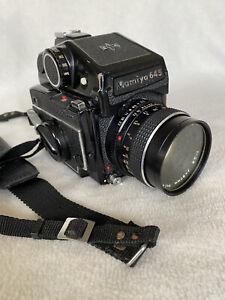Mamiya 645 1000S film camera