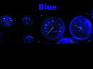 Gauge Cluster LED Dashboard Bulbs Blue For GMC 73-87 C10 C20 C30 Truck