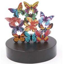 Magnetic Base 12 Butterflies Sculpture Desk Toy Office Decor - New**