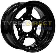 x4 16x8 ET-35 BLACK CHALLENGER STEEL WHEELS LAND ROVER 5x165.1 DEFENDER DISCO1