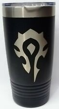 World of Warcraft Horde Yetti Style Thermal Insulated Travel Mug 20 ozs