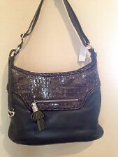 Authentic Brighton Leather shoulder bag Olive Green NWT Reg $270