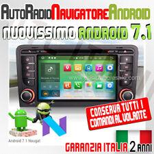 AUTORADIO ANDROID 7.1.2 AUDI A3 (03-11) S3 RS3 RNSE-PU GPS Navi Stereo QuadCORE