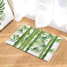 Door Mat Bathroom Rug Bedtoom Carpet Bath Mats Rug Watercolor Green bamboo