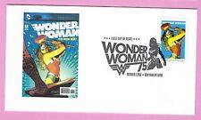 Wonder Woman 2016 FDC. Modern Age.  Wonder Woman No. 7 Comic Cover.