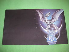 YuGiOh Playmat - Blue-Eyes White Dragon - Brand New Custom Mat