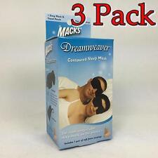 Mack's Dreamweaver Contoured Sleep Mask, 1ct, 3 Pack 033732020343X341
