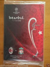 Away Teams A-B AC Milan Final Football Programmes