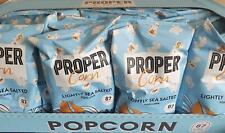 Box Of 24 Propercorn Lightly Sea Salted Popcorn 20gm Bags