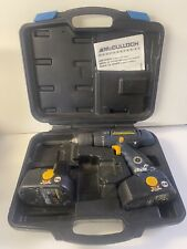 Mcculloch 18v Drill With 2 Batteries And Carrying Case