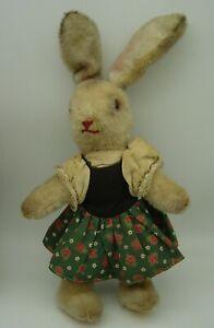 cute vintage Kersa? Schuco ? Mohair Rabbit Bunny Girl