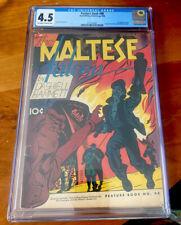 Feature Book #48 Cgc 4.5 1946 The Maltese Falcon Dashiell Hammett