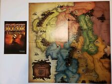 Risk Lord of the Rings Boardgame Replacement Game Board & Instruction Booklet