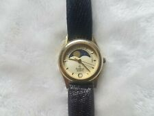 Vintage Rare Armitron 25/4824 Moon Stars Day Night Cycle Watch Ladies Phase