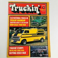 Truckin' Magazine November 1975 Vol 1 #6 Pickup Roundup & Winterize Your Van
