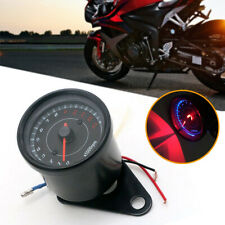 Motorcycle LED Backlight Tachometer Speedometer Tacho Gauge 13000 RPM Universal