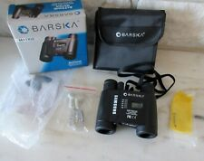 Barska Matrix 8x25 Binoculars with Radio and Clock