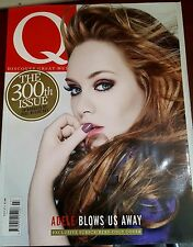 Q MAGAZINE JULY 2011 - ADELE- 300TH ISSUE - PAUL MCCARTNEY - SUBSCRIBERS COVER