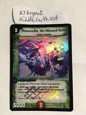 DM-11 3/55 Diamondia, the Blizzard Rider Duel Masters Blast-O-Splosion