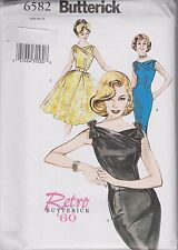 From UK Sewing Pattern Dress 1950's 1960's 12 - 16 #6582