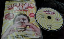 supersize me dvd a man surviving 30 days on junk food and the end results