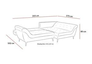 sofa corner bed with storage --- BIG SALE!!!