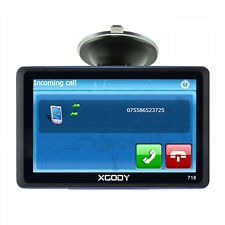 7 Zoll GPS Navigationsgerät für LKW Auto AV-IN 8G Bluetooth Neue EU Karte XGODY