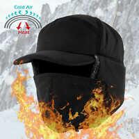 Winter Hat Cap Trooper Trapper with Ear Flap Women Men Warm Fur Hunting Aviator