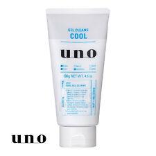 [SHISEIDO UNO] Gel Cleans COOL SENSATION Facial Cleanser Face Wash for Men NEW