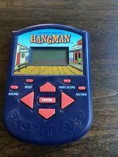 Vintage 1995 Hand Held Electronic Hangman Game   Tested OK - Milton Bradley