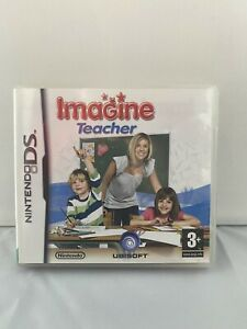 NINTENDO DS GAME IMAGINE TEACHER WITH MANUAL TESTED UBISOFT 3+