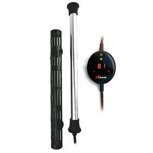 Finnex HMX-500S 500W Aquarium Heater with Touch Digital Temperature Controller