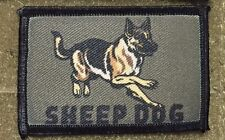 Sheep Dog Morale Patch American Sniper Tactical Military Army Badge Hook Flag