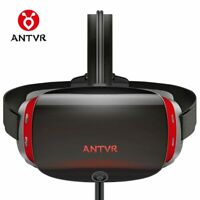 """ANTVR New Virtual Reality PC headset 3d vr Glasses 5.5""""Dual OLED Screen 2K VR"""