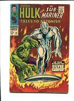Tales To Astonish #93, Hulk/Sub-Mariner/Silver Surfer, 1967, Marvel, VG-F