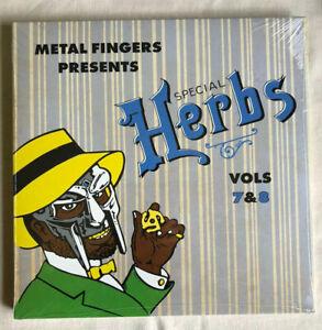 MF Doom Metal Fingers presents Special Herbs LP Vols 7 & 8  New Sealed Vinyl